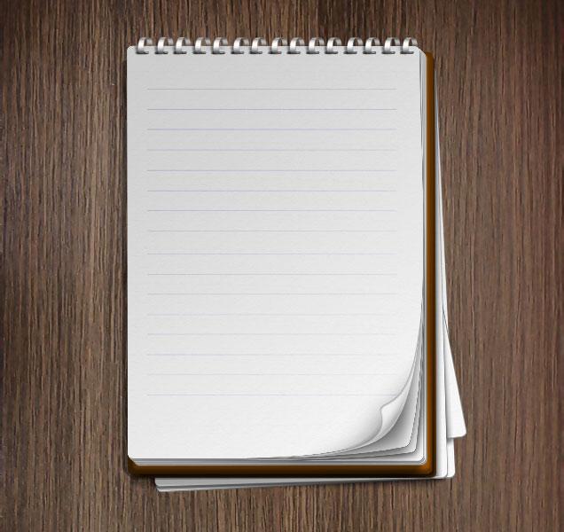 Открытка в виде блокнота, счастьем картинка встреча